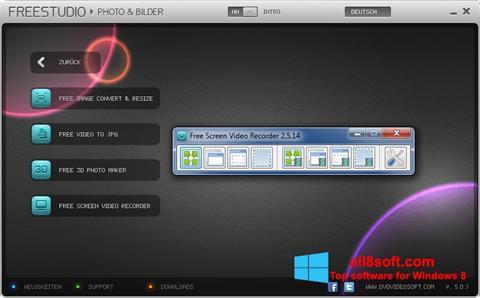 Ekran görüntüsü Free Studio Windows 8