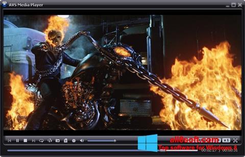 Ekran görüntüsü AVS Media Player Windows 8
