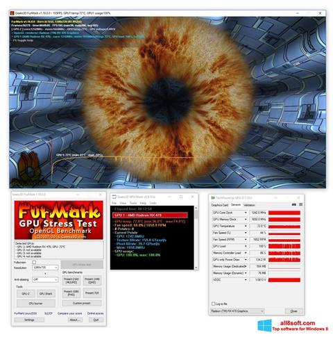 Ekran görüntüsü FurMark Windows 8