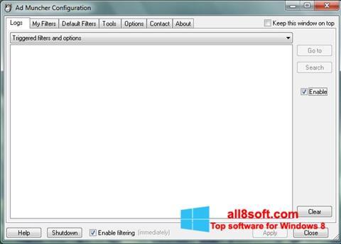 Ekran görüntüsü Ad Muncher Windows 8