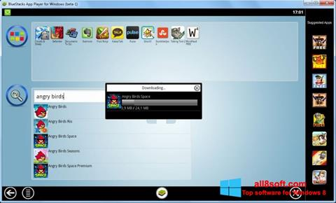Ekran görüntüsü BlueStacks Windows 8