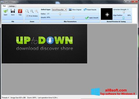Ekran görüntüsü SmartDeblur Windows 8