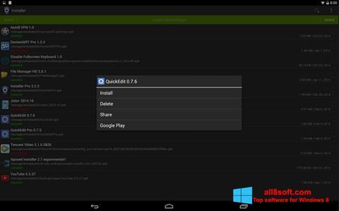 Ekran görüntüsü InstAllAPK Windows 8