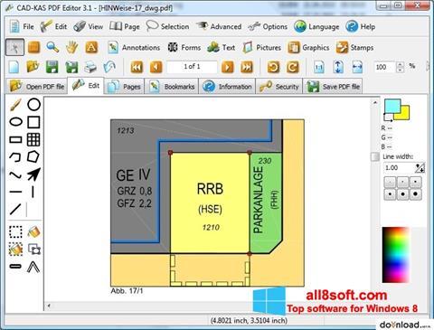 Ekran görüntüsü PDF Reader Windows 8