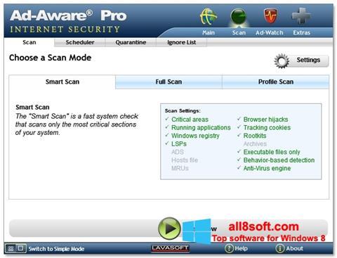 Ekran görüntüsü Ad-Aware Windows 8