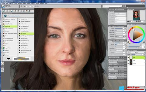 Ekran görüntüsü Corel Painter Windows 8