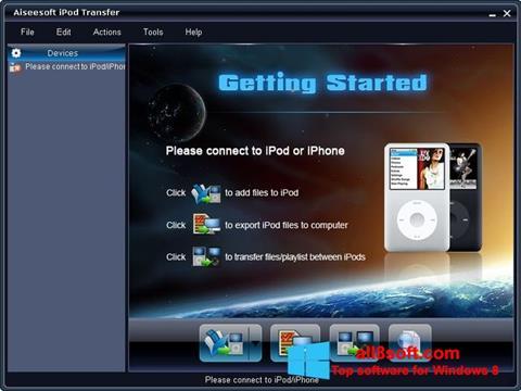 Ekran görüntüsü iPhone PC Suite Windows 8