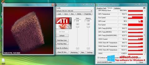 Ekran görüntüsü ATITool Windows 8